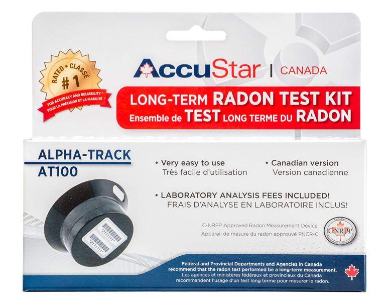 Home radon testing kit canada and edmonton
