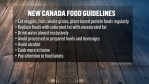 New Canada Food Guidelines