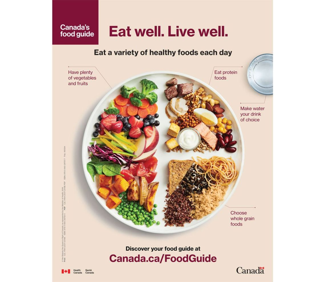 New Canada's Food Guide Standards